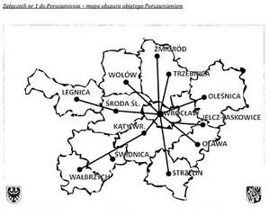 Powiat wałbrzyski w aglomeracji wrocławskiej