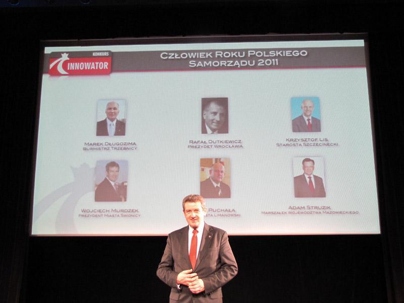 Wojciech Murdzek wśród najlepszych samorządowców