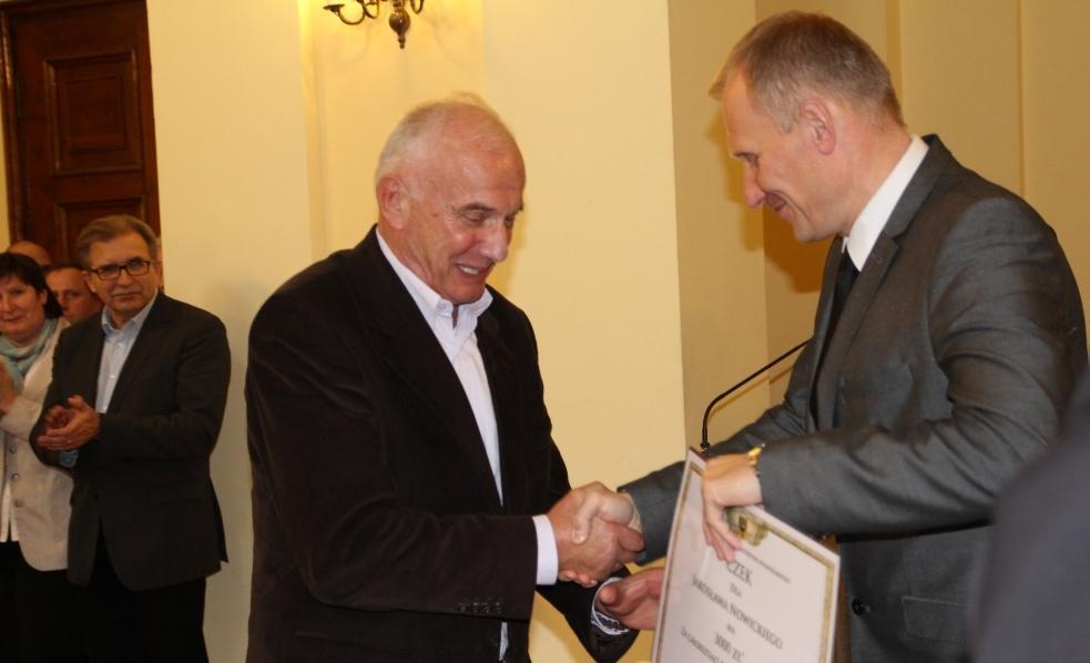 Marszałek nagrodził naszych sportowców i trenerów