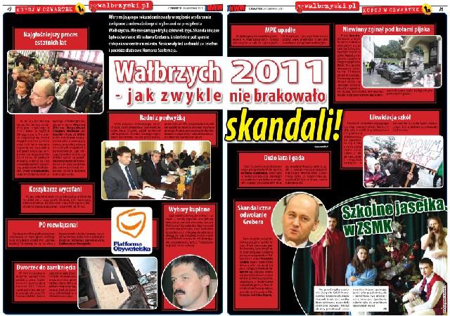 Wałbrzych 2011- jak zwykle nie brakowało skandali!