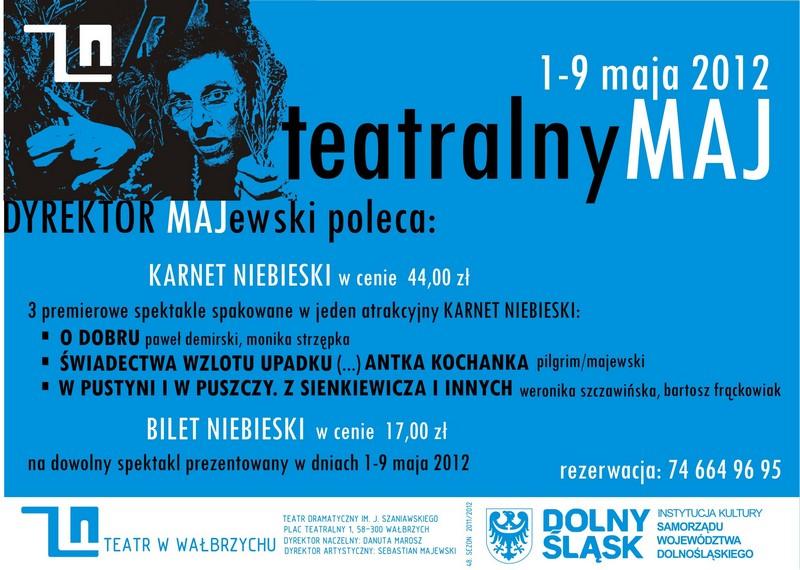 Weekendowy maj w Teatrze Dramatycznym