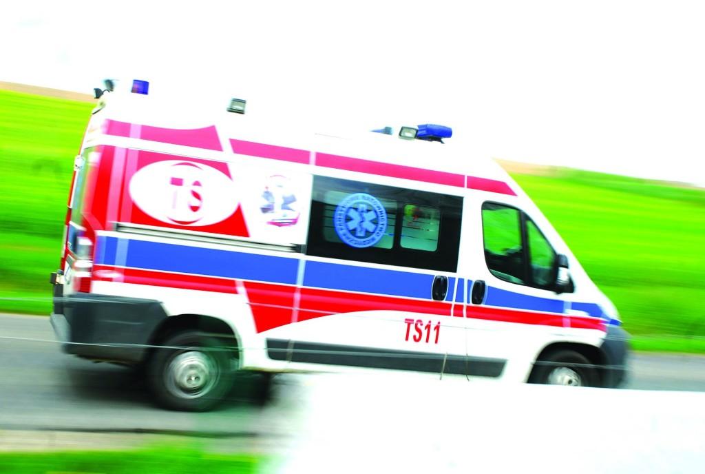 Lokomotywa potrąciła młodą kobietę