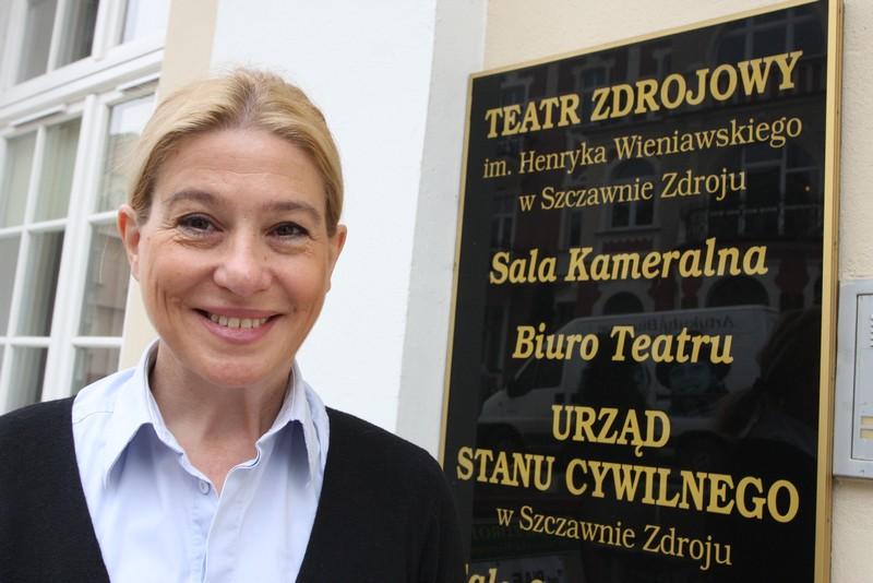 Nowa dyrektor Teatru Zdrojowego