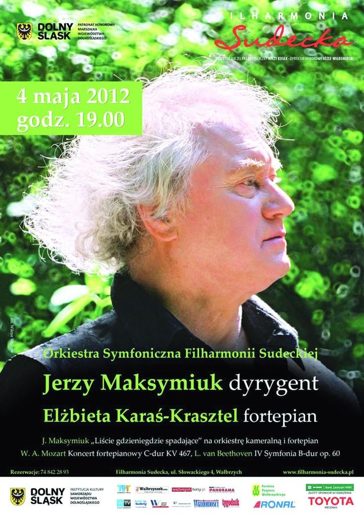 Maksymiuk w Filharmonii Sudeckiej