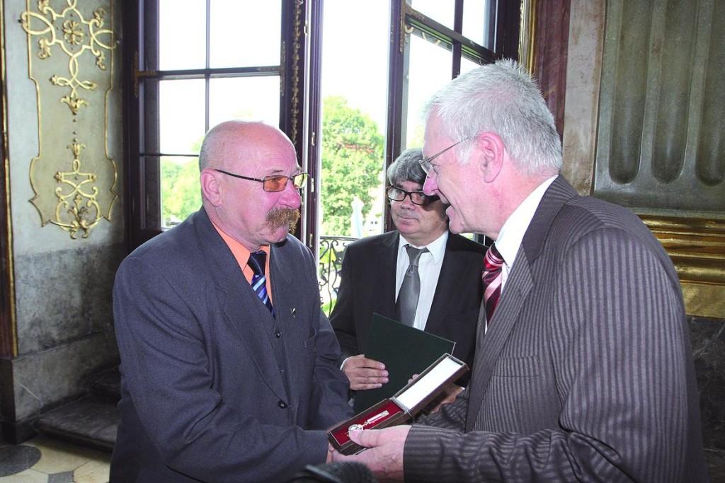 Roman Gileta: Wałbrzych oswoił Krzyżaka