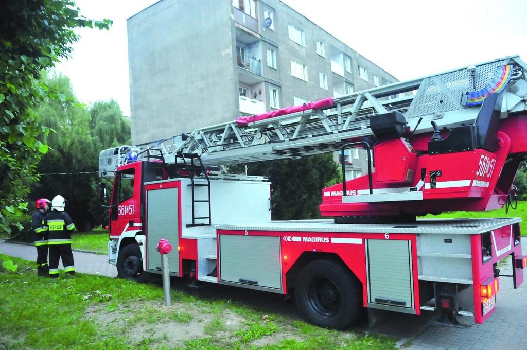 Strażacy wpadli na parówki