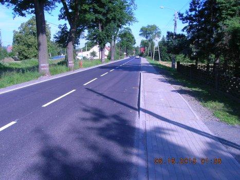 Koniec remontu na drodze wojewódzkiej nr 382