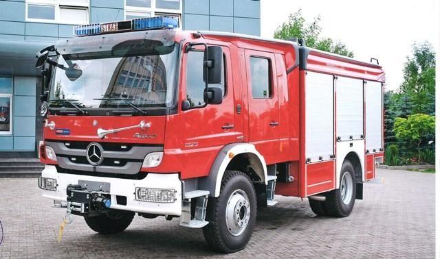 Nowy wóz strażacki dla Głuszycy