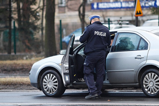Policjanci nie mieli spokoju