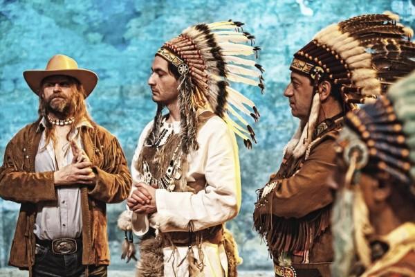 03.03.2011 Walbrzych Teatr Dramatyczny spektakl pt. Sorry, Winnetou rez. Piotr Ratajczak foto Bartlomiej Sowa
