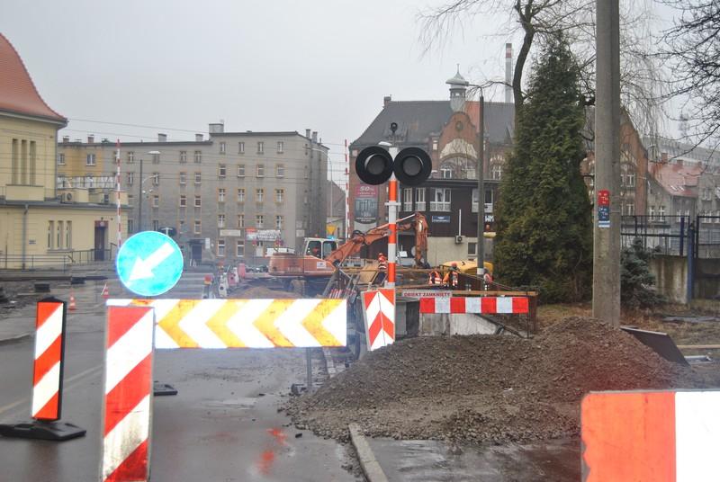 Likwidują tunel przy dworcu Wałbrzych Miasto