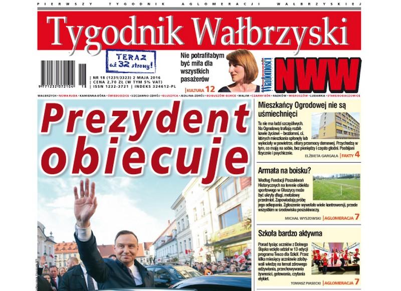 Najnowszy numer Tygodnika Wałbrzyskiego w kioskach