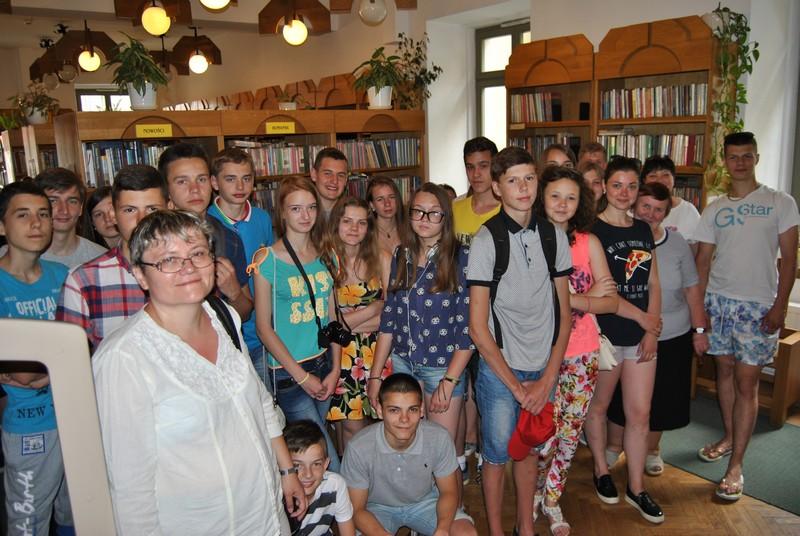 Borysławscy uczniowie w Wałbrzychu