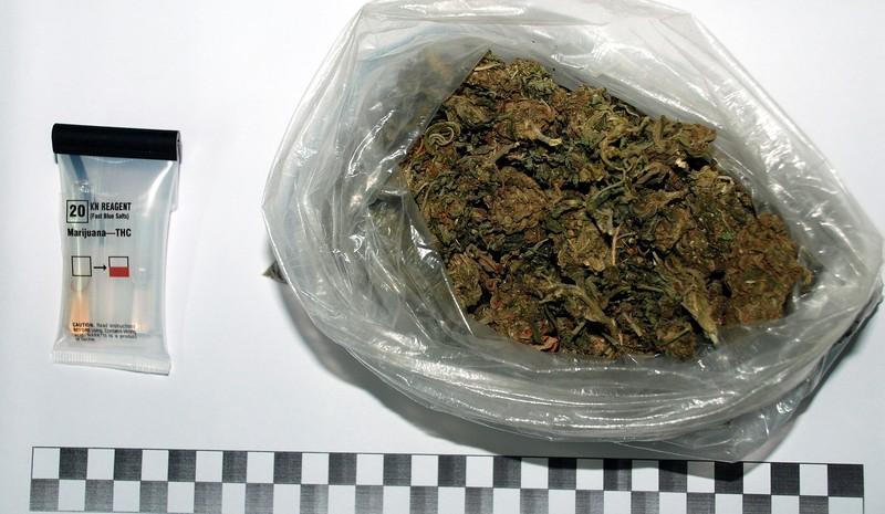 W pudełku na parapecie znaleźli marihuanę