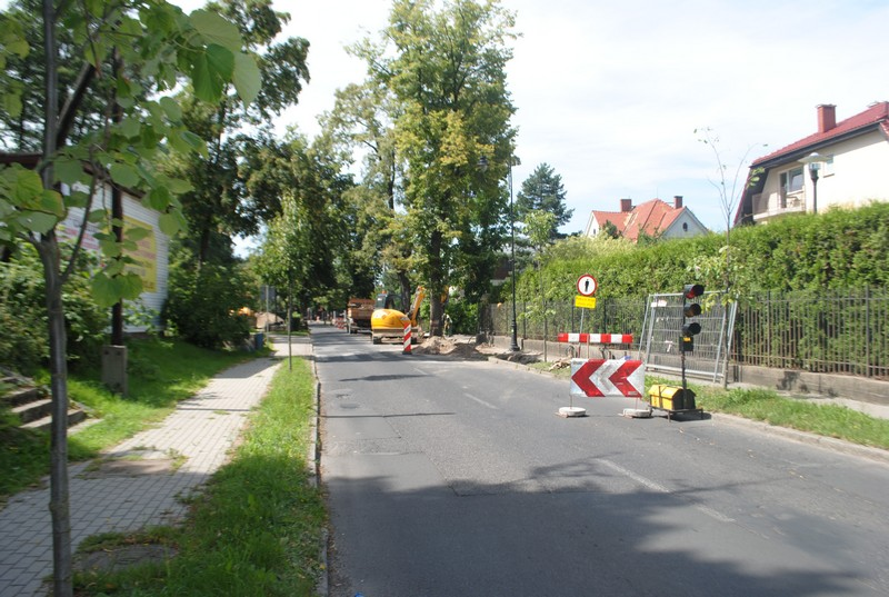 Utrudnienia w Szczawnie