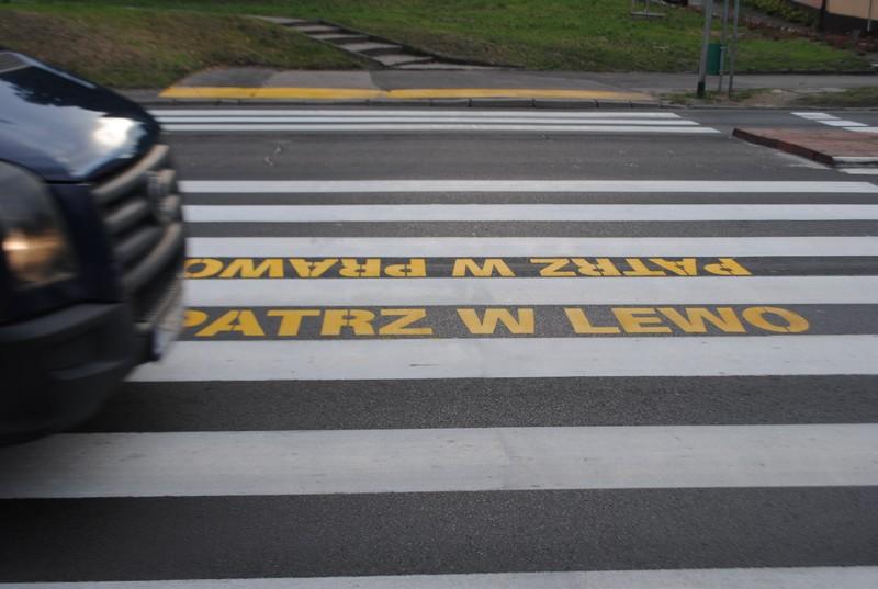 Śmierć na przejściu dla pieszych