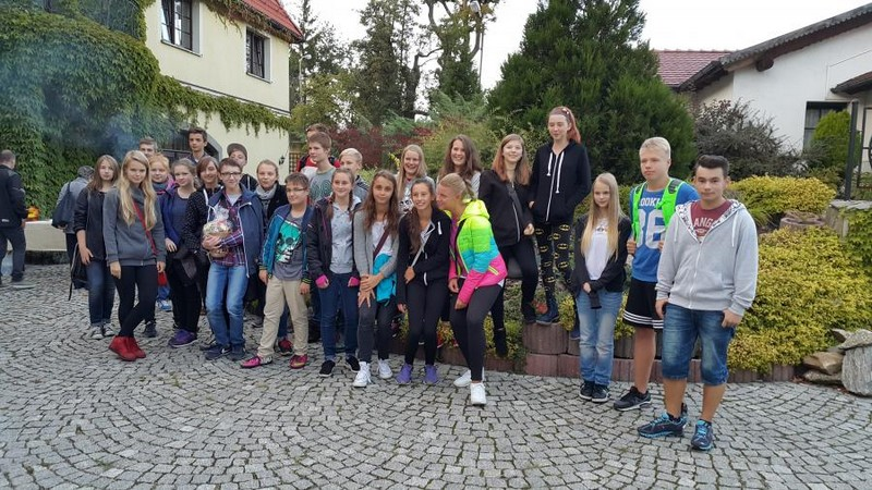Młodzi Niemcy przyjechali do swoich rówieśników