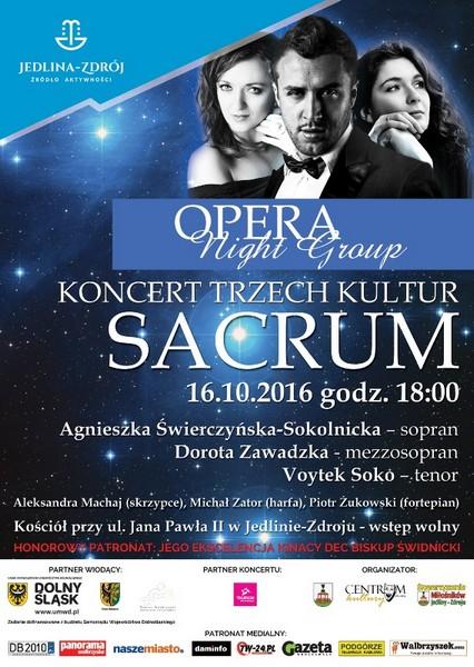 Sacrum czyli Koncert Trzech Kultur w Jedlinie