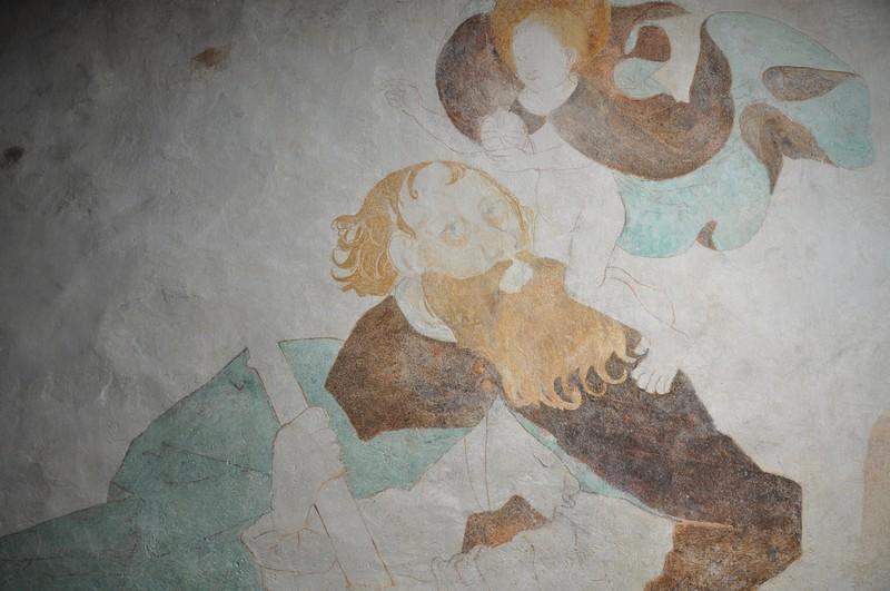 Coraz bardziej widoczne unikatowe freski