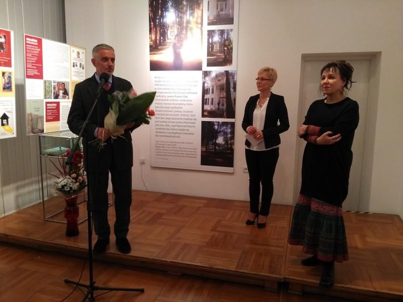 Olga Tokarczuk na świecie i w Wałbrzychu