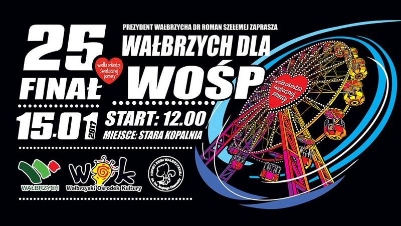 Po raz 25 zakręci się WOŚP. Co nas czeka w Wałbrzychu?