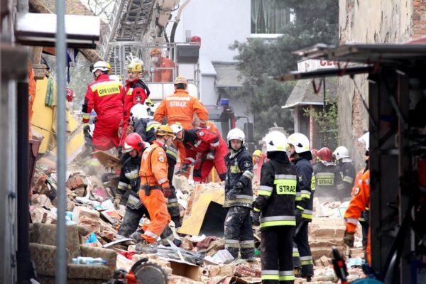 Dzieci zginęły pod gruzami w Świebodzicach