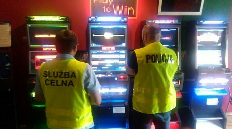 Zarekwirowali automaty do gier hazardowych