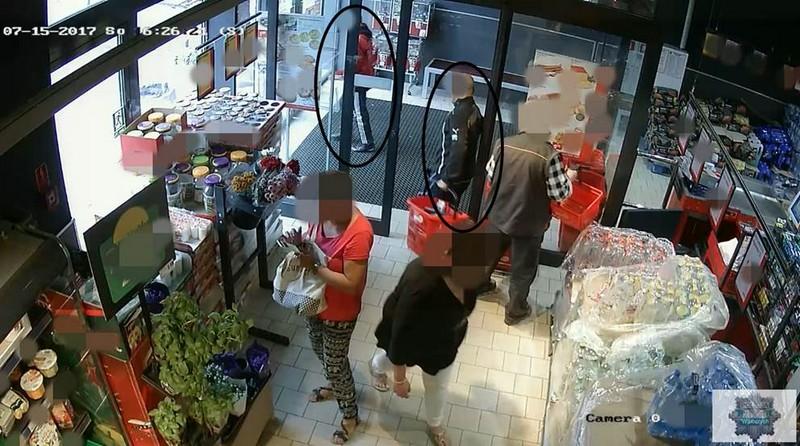 Rodzinna kradzież w supermarkecie