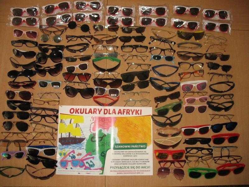 Okulary dla potrzebujących