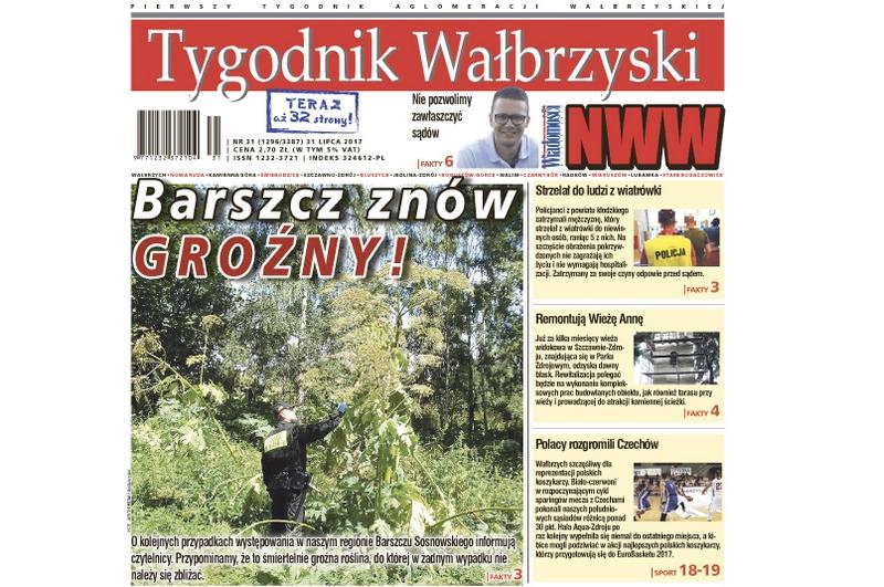 Nowy Tygodnik Wałbrzyski już w kioskach