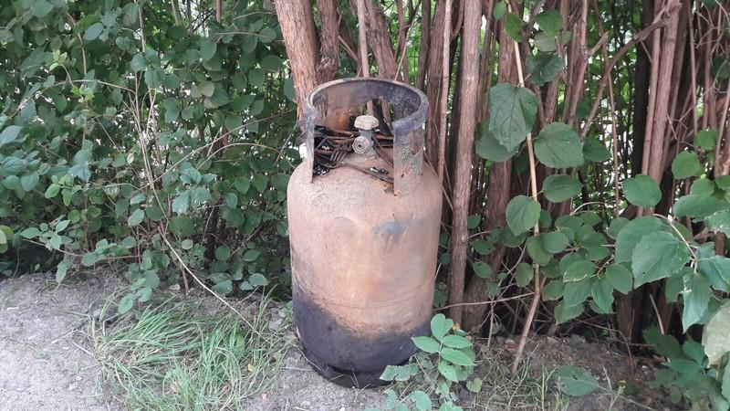 Wybuch gazu i pożar na Sobięcinie