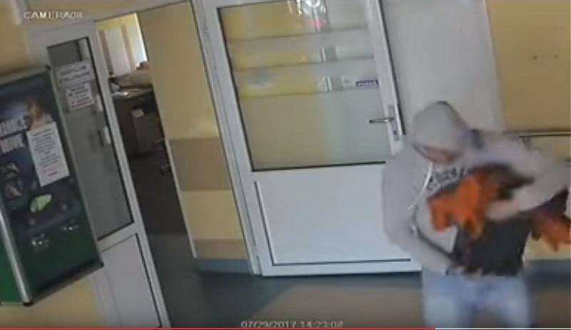 Wpadł złodziej kasetki w hospicjum