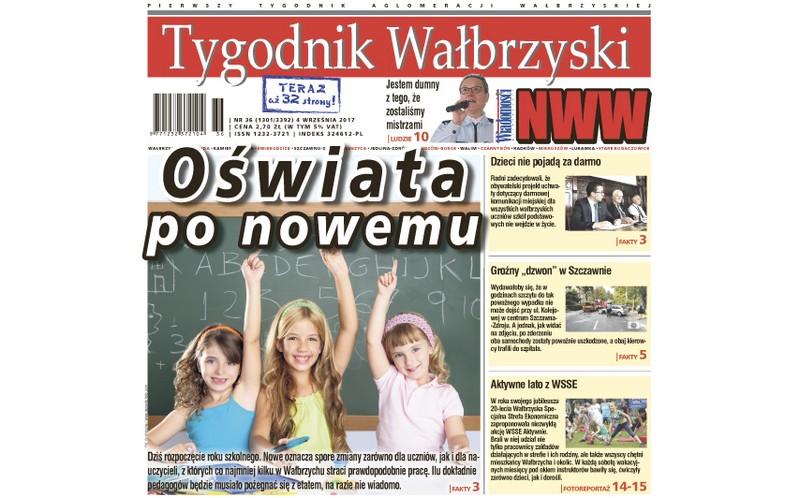 Najnowszy numer Tygodnika Wałbrzyskiego już w kioskach