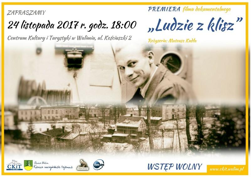 """Wkrótce walimska premiera """"Ludzi z klisz"""""""