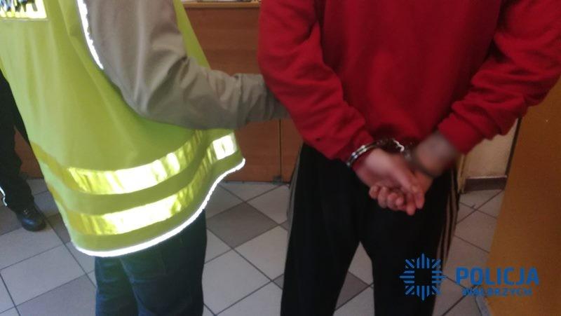 Areszt za groźby karalne, pozbawienie wolności i pobicie