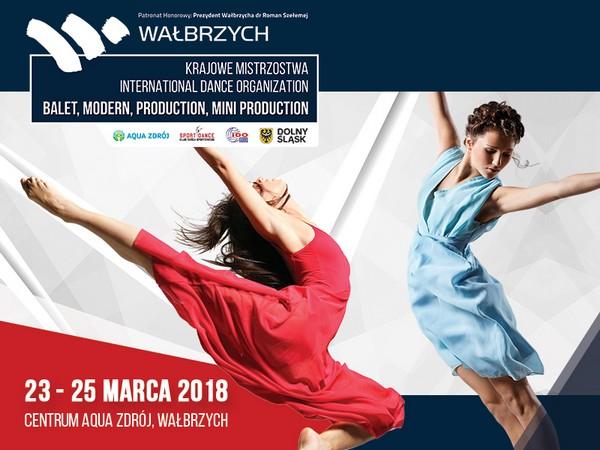 Tłumy tancerzy w Wałbrzychu