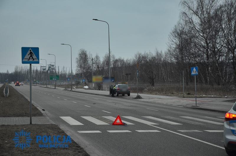 Potrącona na przejściu dla pieszych w ciężkim stanie