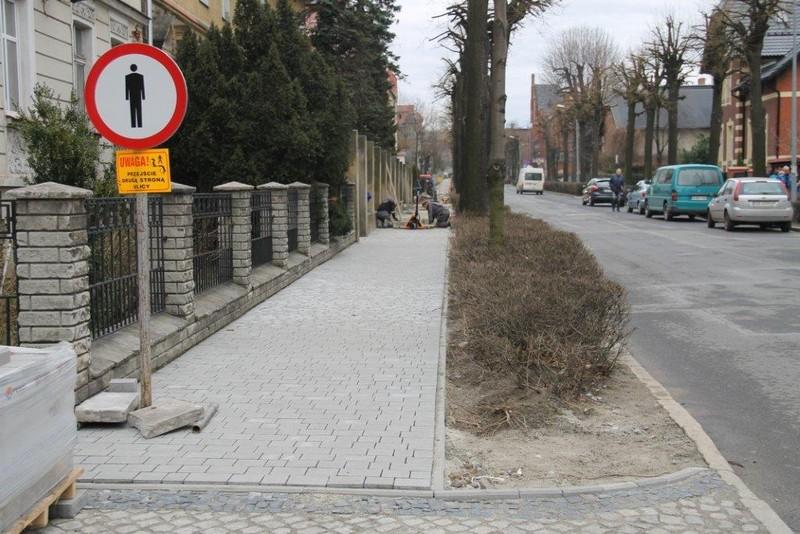 Chodniki, parkingi, drogi…