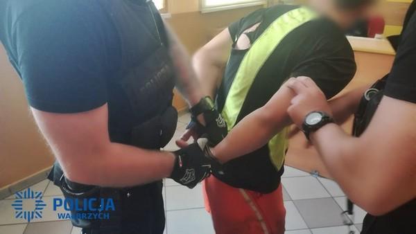 Aresztowany za pobicie