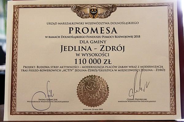 Promesa marszałka i kolejne inwestycje