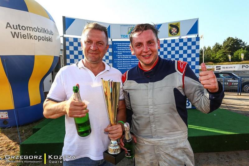 Dwa zwycięstwa w mistrzostwach Polski