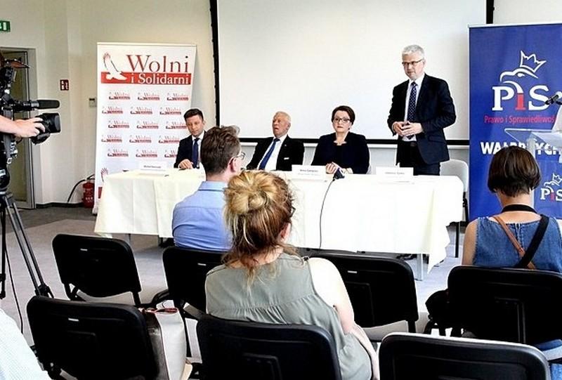 Zyska kandydatem na prezydenta Wałbrzycha