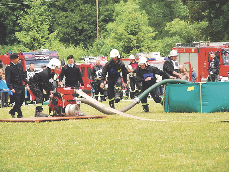 Strażacy z Zagórza Ślaskiego wypadli najlepiej