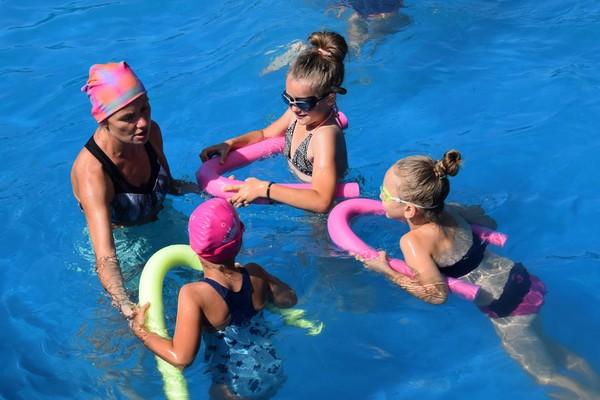 Sierpniowe lekcje pływania