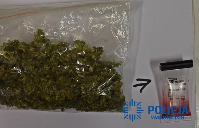 Nastolatek złapany z marihuaną