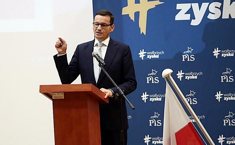 Premier z wizytą w Wałbrzychu
