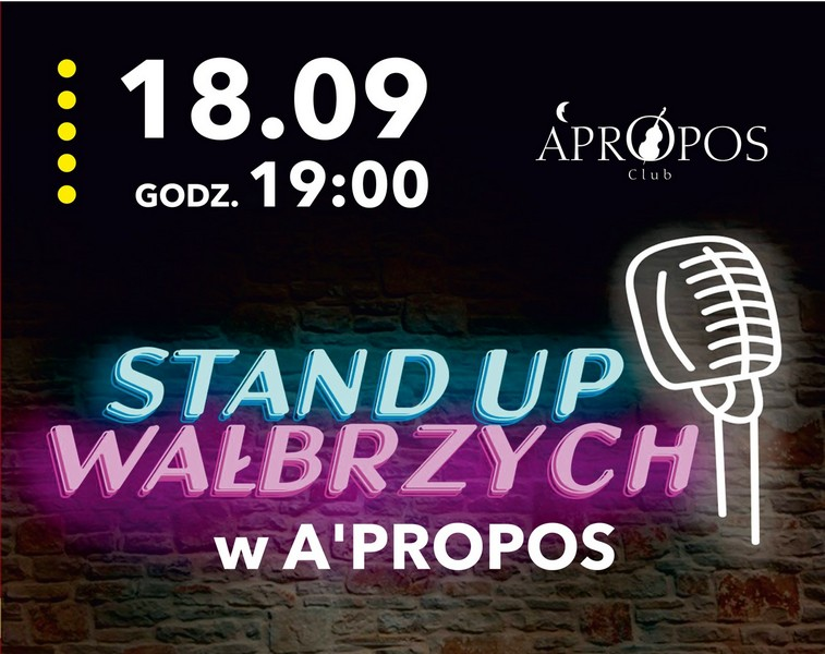 Stand-upowcy w A'Propos