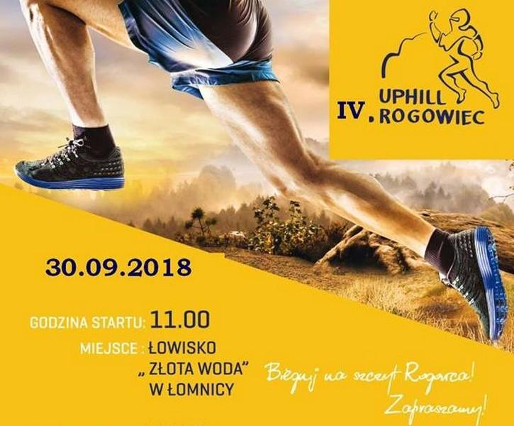 Uphill Rogowiec startuje ostatniego dnia września