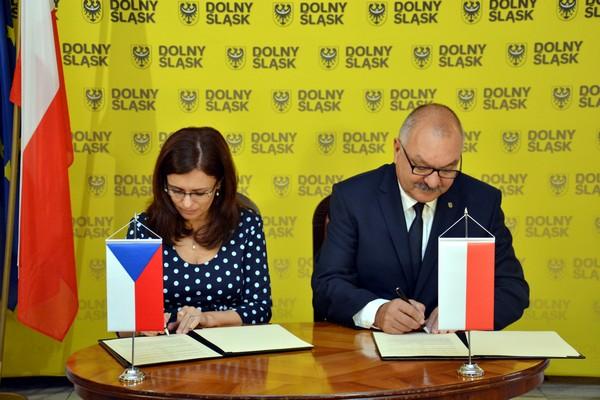 Dolny Śląsk będzie współpracował z Krajem Środkowoczeskim
