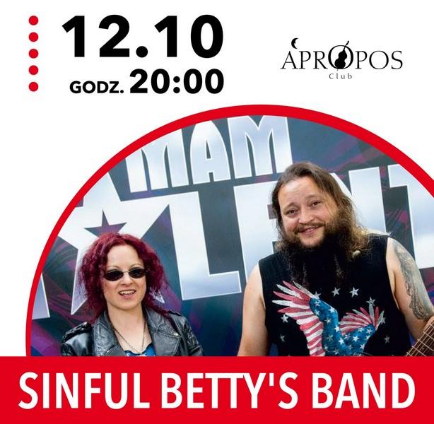 Zagrają Sinful Betty's Band i Paranoja Hotel